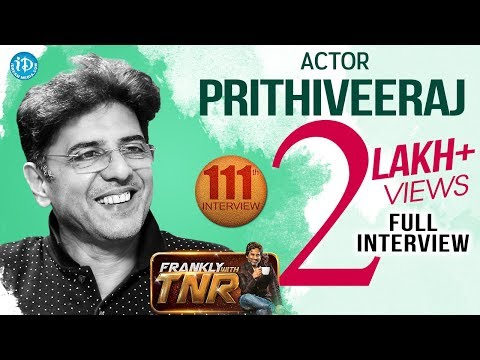 Actor Babloo Prithiveeraj Exclusive Interview || Frankly With TNR #111 || Talking Movies With iDream