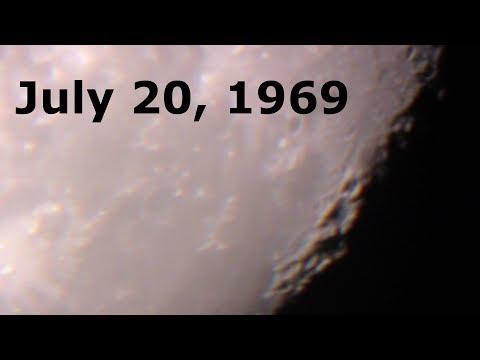 FLASHBACK - July 20, 1969 - Moon landing - Apollo 11 Mondlandung 21.Juli 1969