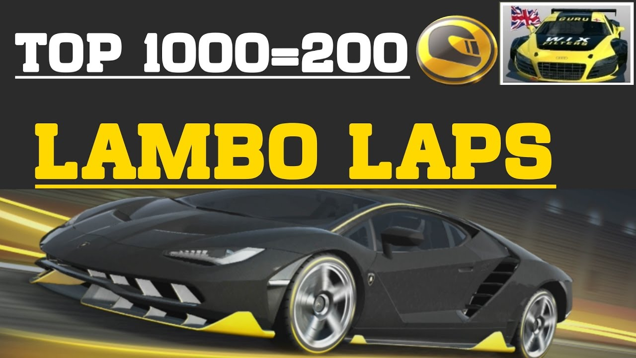 Race Teams Laps Update Lamborghini Centenario Lp 770 4 Real Racing 3