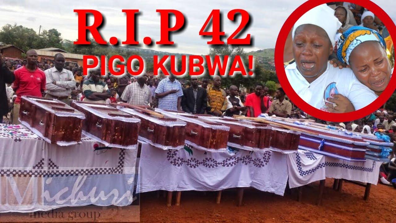HABARI MBAYA SANA! 42 WAMEPOTEZA MAISHA PAPO HAPO! NI MAJONZI MAKUBWA!!