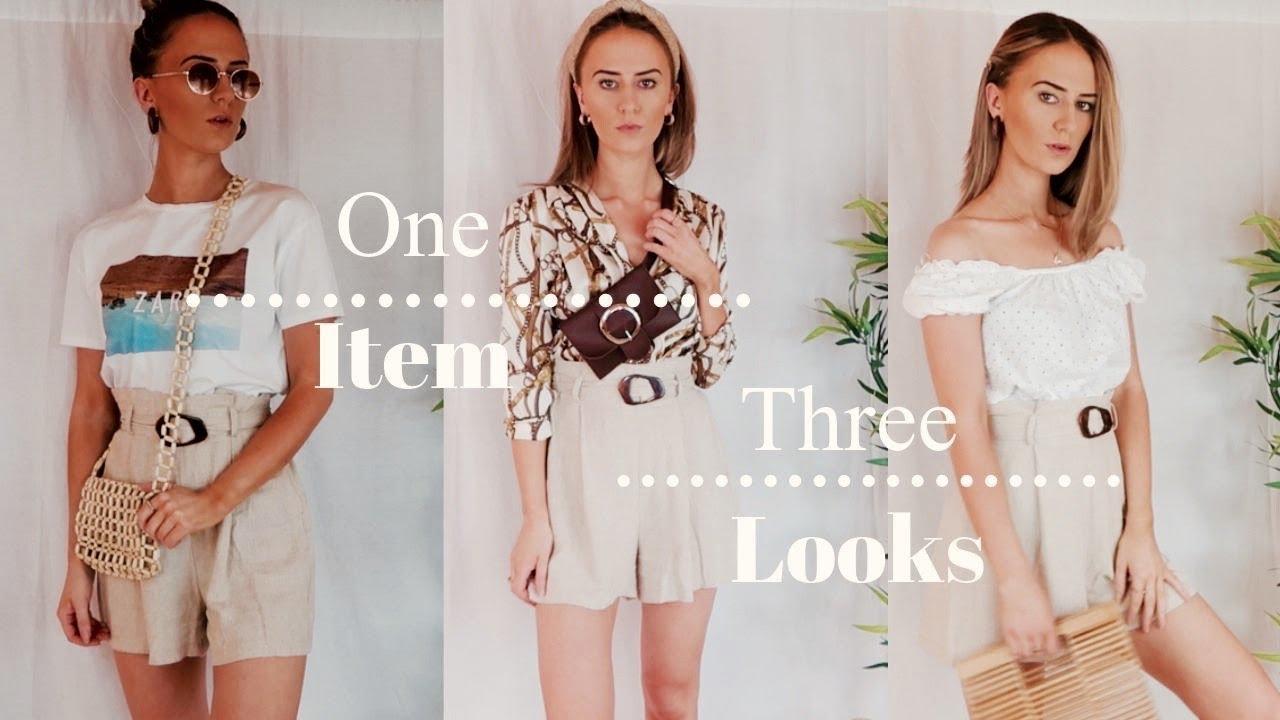 466f5c7f173 1 Item 3 looks | Paper Bag Shorts