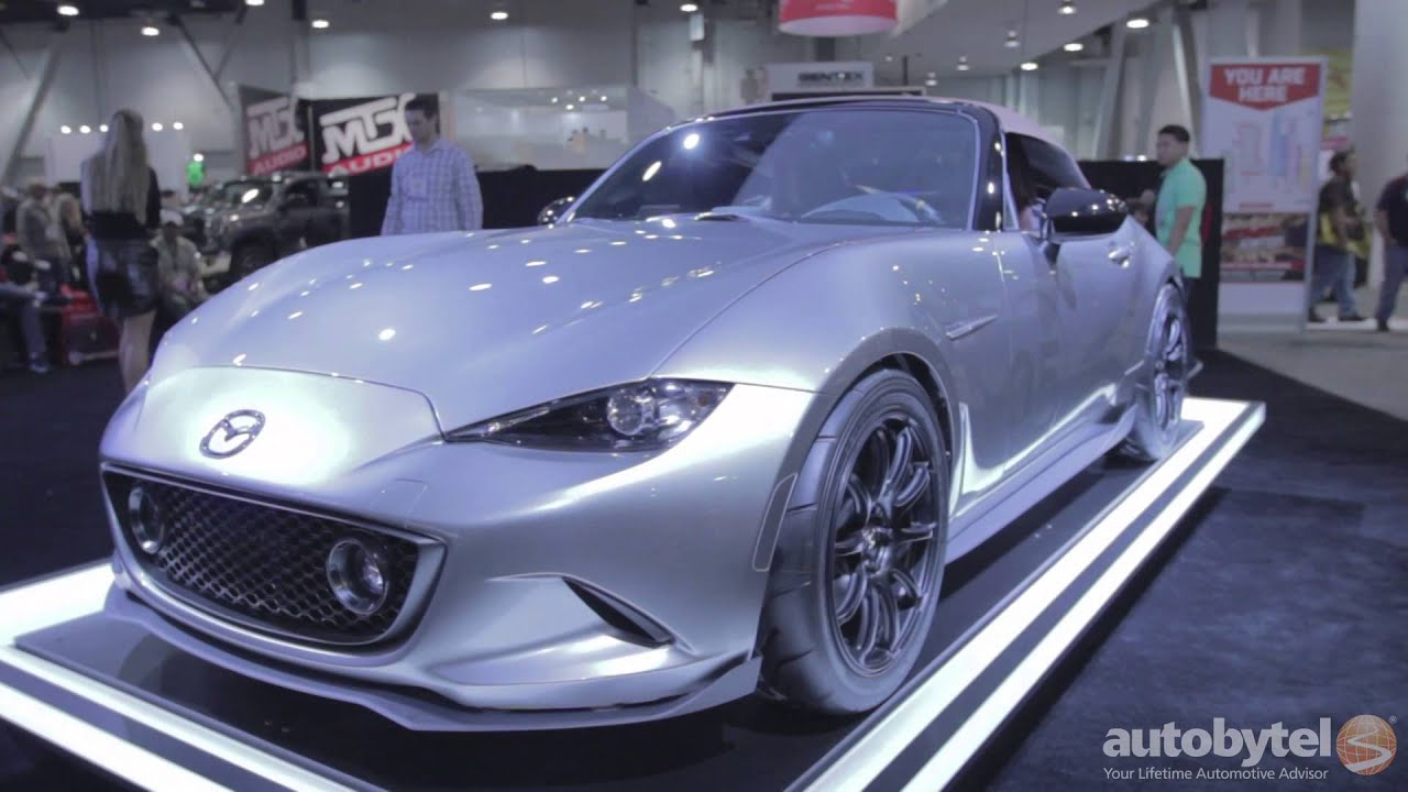 Mazda MX-5 Speedster and Spyder Concept Cars @ SEMA - YouTube