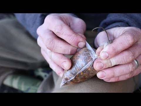 Carp Fishing PVA Bag Rig And Lead Set-Up