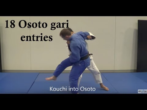 18 Competition effective Osoto gari entries
