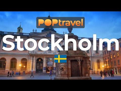 Walking In STOCKHOLM / Sweden 🇸🇪- Central City To Old Town - 4K 60fps (UHD)