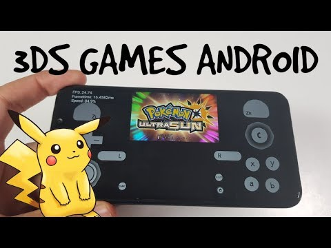 Pokemon Ultra Sun 3DS Games on Android Gameplay Pocophone F1 test Citra Emulator