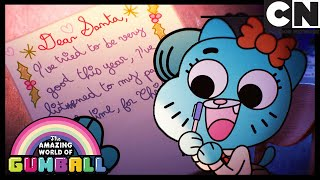 Nicole Writes A Latter To Santa | Gumball | Cartoon Network