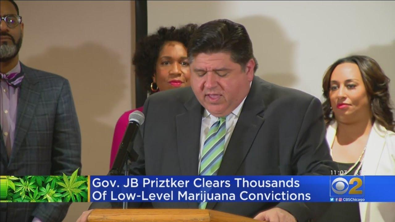 Pritzker Pardons More Than 11,000 Pot Convictions