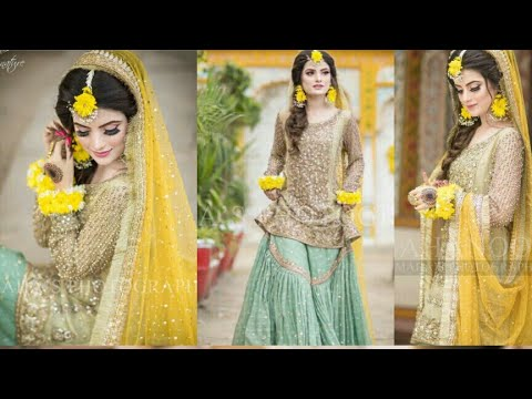 Gorgeous and mind blowing Mehndi bridal photo shoot