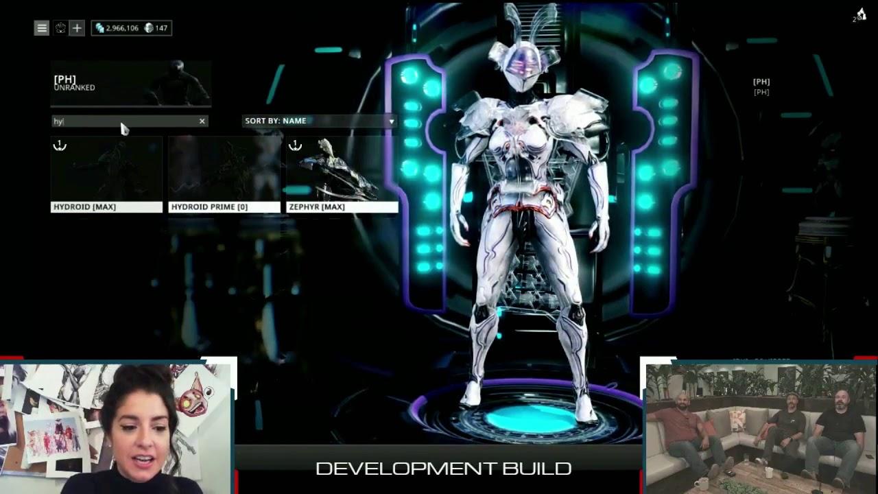 Warframe új Karakter Plains Of Eidolon Hydroid Prime