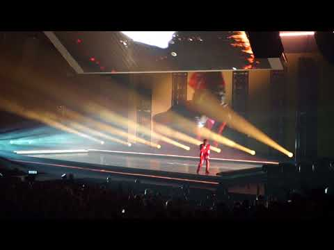 "KENDRICK LAMAR ""Alright"" Live Spectrum Center, Charlotte, NC 8.29.2017"