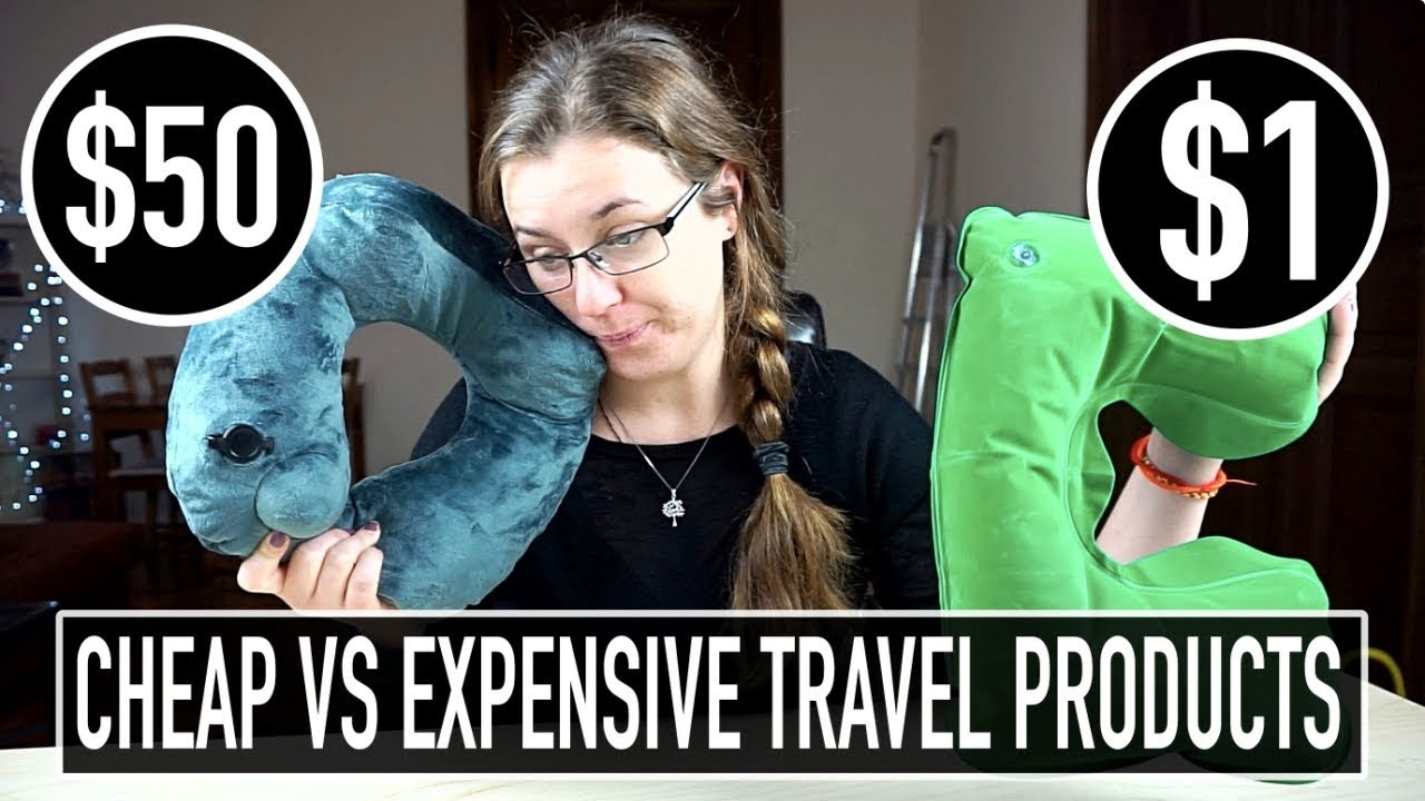 cfaabff58d9f Comparing CHEAP vs EXPENSIVE Travel Products! - YouTube