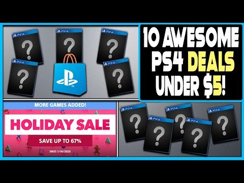 10 AWESOME PS4 GAME DEALS UNDER $5 ON PSN RIGHT NOW - FINAL DAY OF HUGE HOLIDAY SALE!