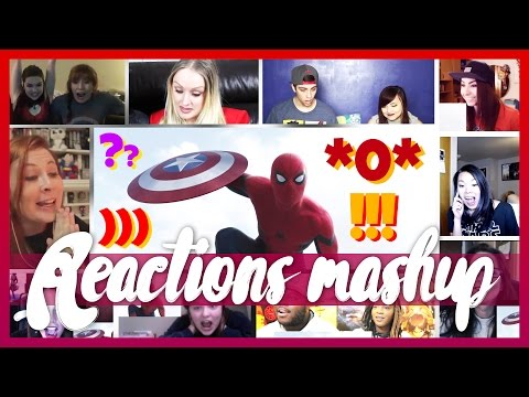 Captain America: Civil War Trailer 2 GIRLS Reactions Mashup (Best of Best)