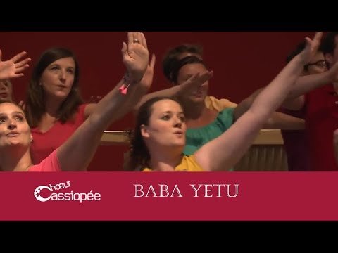 Baba Yetu - Chorale choeur Cassiopée Lyon - Christopher Tin