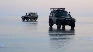 On the Baikal ice