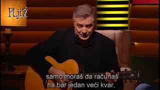 Mićko, Voja, Draža - ZADNJI VOZ ZA MALTU ceo song (PLjiŽ S02 E09 - 30.11.2018.)