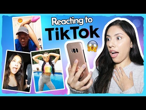 REACTING TO TIK TOK! (Musical.ly)