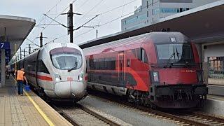Züge Linz Hbf, 28.07.2016