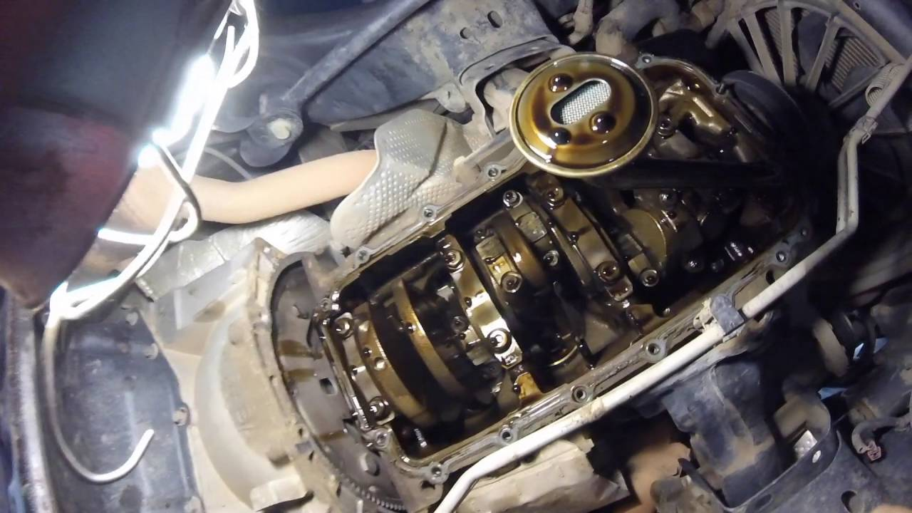 2010 Jku Oil Pan Gasket Youtube