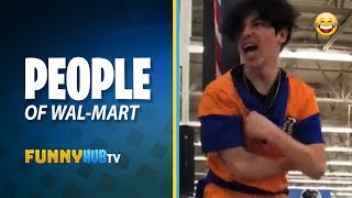 Crazy People Of Walmart Compilation #001