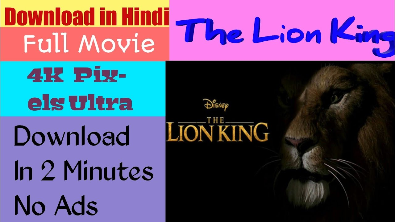 download the lion king movie hd