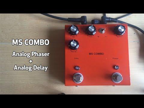MS COMBO Analog Phaser + Analog Delay