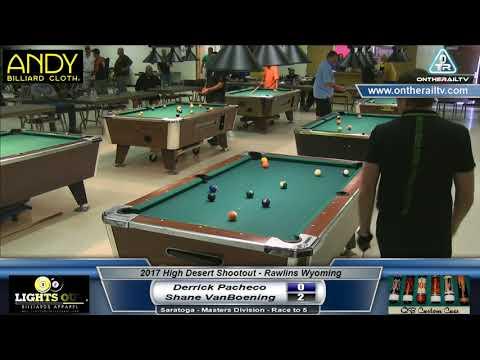 Derrick Pacheco vs Shane VanBoening - Saratoga - 2017 HDS