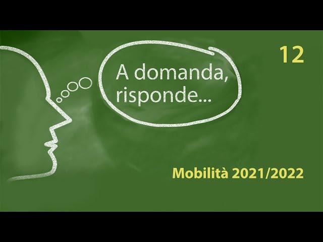 Mobilità 2021/22: domande e risposte sulle modalità di trasferimento