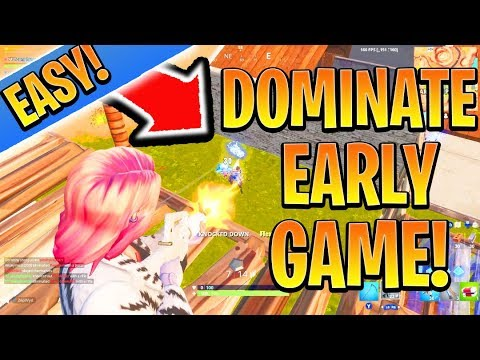 Fortnite Tips Xbox Season 9 How To Destroy Earlygame Easy Fortnite Ps4 Xbox Tips And Tricks Season 9 How To Win In Fortnite Youtube