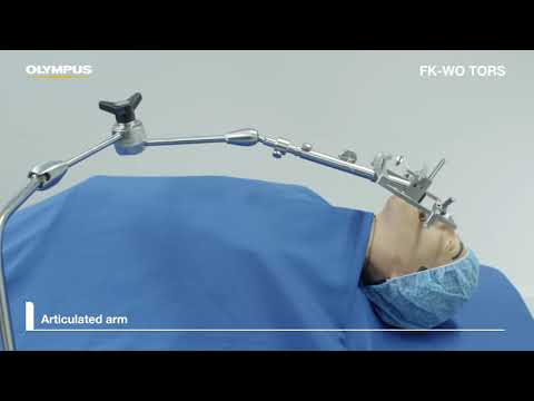 Laryngo-Pharyngoscope Retractor FK-WO Tors Instruction For Use Training Video