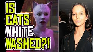 CATS Movie Accused of WHITEWASHING its Lead Actress?!
