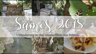 Samos Potami Wasserfälle