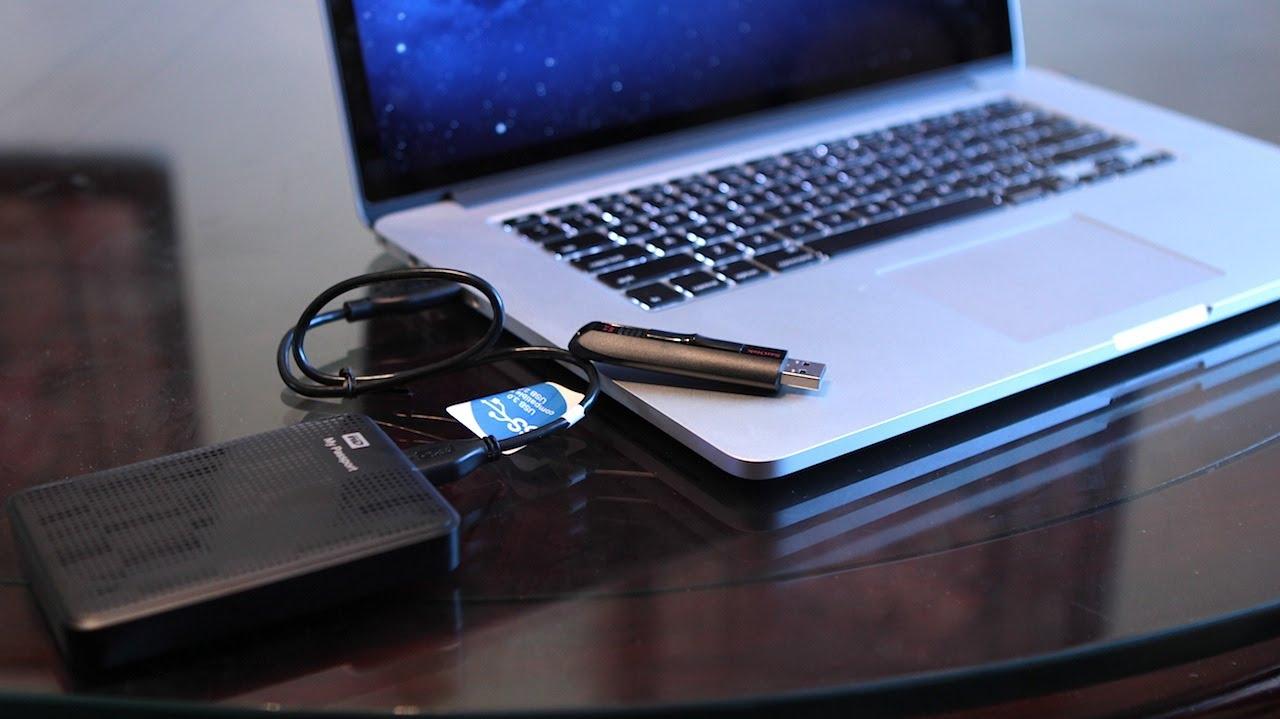 Super 2012 MacBook Pro - USB 3.0 Demo - YouTube DV96