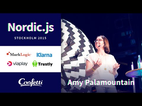 Nordic.js 2015 • Amy Palamountain - Building native applications with Electron