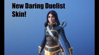 Fortnite Item Shop May 3 {New Daring Duelist Skin!}