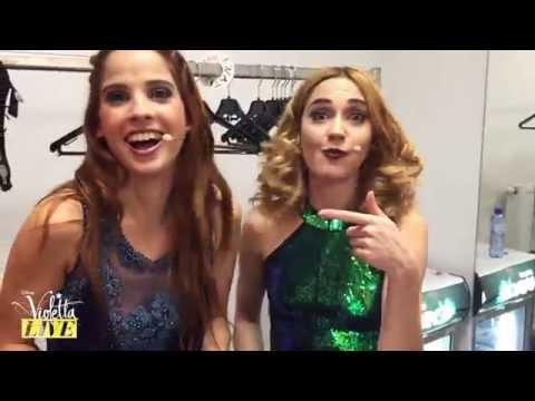Les Filles et le Chocolat Belge - Violetta Live   Violetta   Disney Channel BE