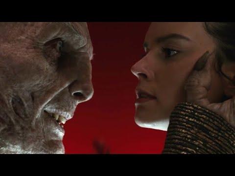 Snoke VS Rey and Kylo Ren epic scene | Star Wars The Last Jedi