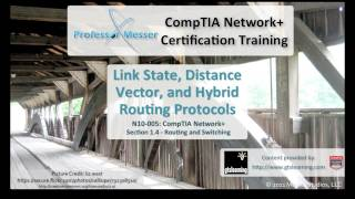 link state distance vector and hybrid routing protocols comptia network n10 005 1 4