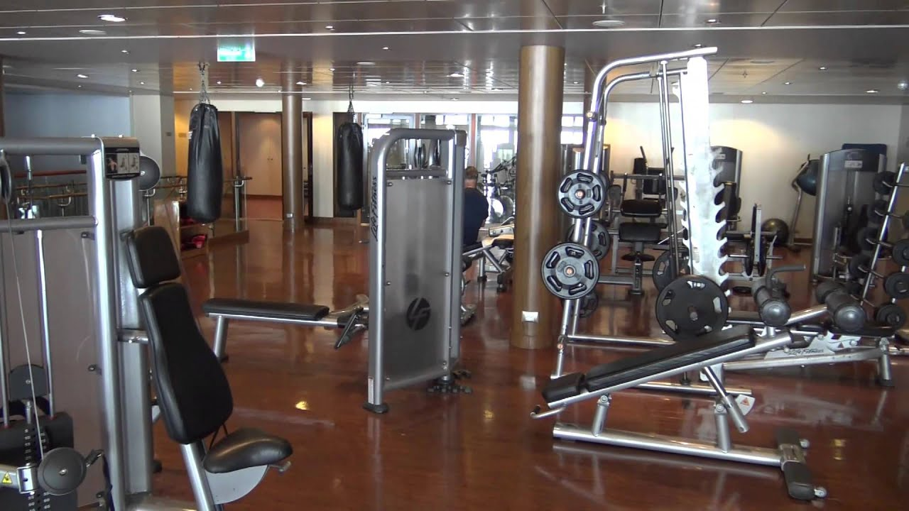 Norwegian Epic Tour Puls Fitness Center And Jogging Track