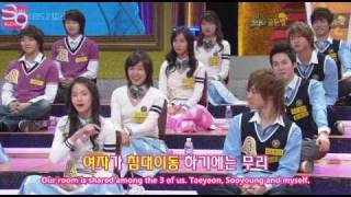 [Eng Subs] Star Golden Bell EP 177 Yuri, Yoona, Tiffany, SooYoung [03.22.08] Part 1/6