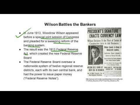 TAP Video 2 Chapter 29 Wilsonian Progressivism at Home and Abroad