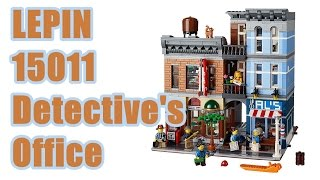 Lepin 15011 Detective's Office