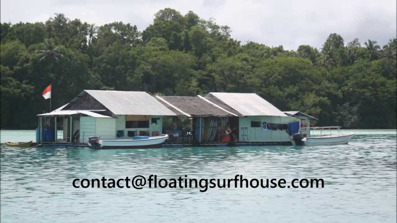 Floating surf house idea hits Banyak Islands