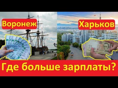 Неожиданное сравнение зарплат в России и Украине на видео