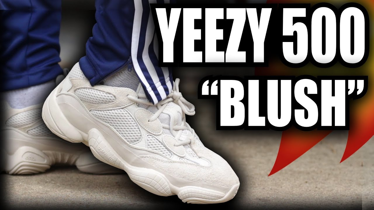 dbbde67cbb8 ADIDAS YEEZY 500 BLUSH REVIEW   ON FEET! - YouTube