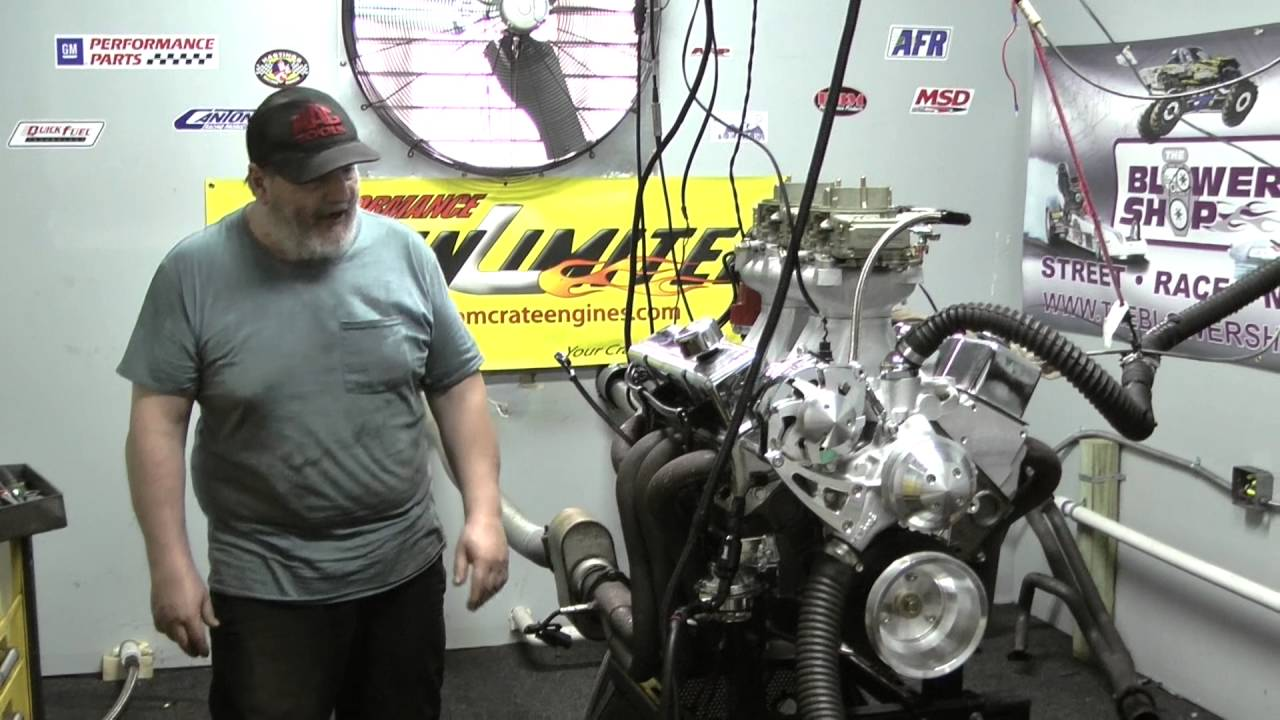 383 Stroker Tunnel Ram Crate Engine