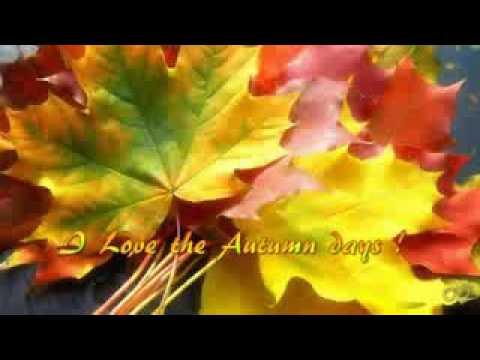 I love the Autumn days
