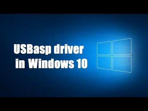 How To Install USBasp Driver In Windows 10