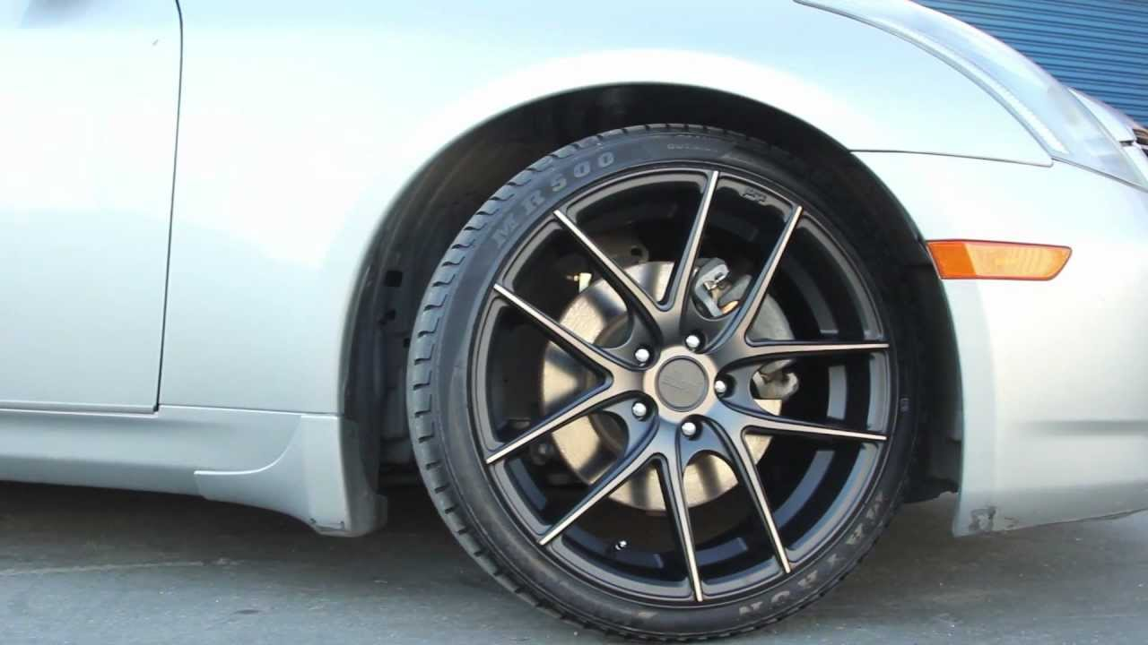 Infiniti G35 Niche Targa Wheels Youtube